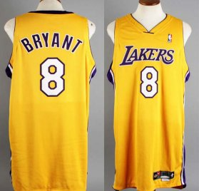 2000-01 Kobe Bryant Game-Worn Los Angeles Lakers Jersey - COA 100% Team