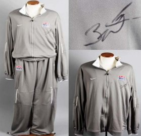 Dwyane Wade Game-Worn, Signed USA Basketball Travel Uniform - JSA Full LOA & 100% Team
