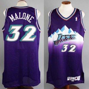 1999-00 Karl Malone Game-Worn Jersey Jazz - COA 100% Team