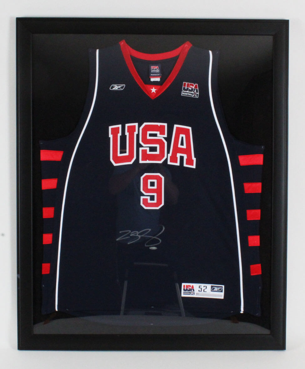 brand new 59ac4 f6645 LeBron James Signed Team USA Jersey 35.25