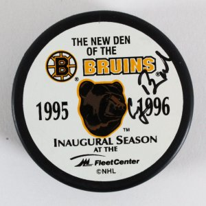 George H. W. Bush Signed Boston Bruins Hockey Puck - JSA Full LOA