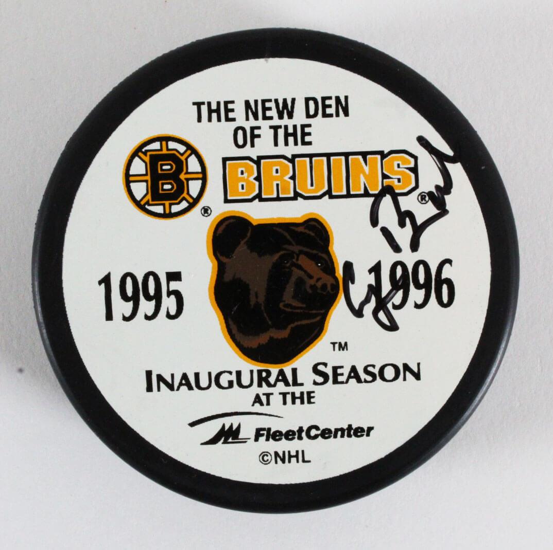 George H. W. Bush Signed Boston Bruins Hockey Puck - JSA Full LOA