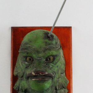 Creature of Black Lagoon Gill-Man Original Mask Mold - Featured in Film Used as Prop