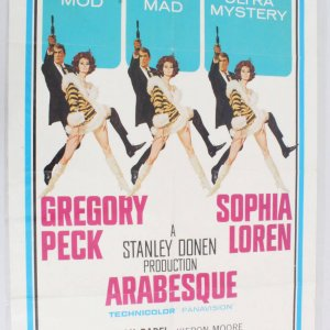Arabesque One Sheet Movie Poster 66/216
