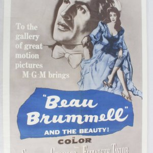BEAU BRUMMELL One Sheet Movie Poster R62/33