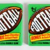 1974 Topps Football Cards Un-Opened Wax Pack (2)