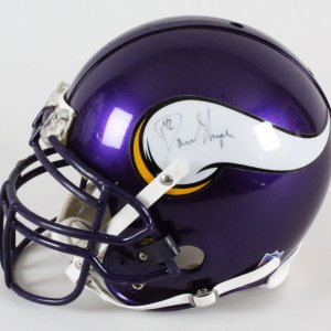 Darren Sharper Minnesota Vikings Game-Used Helmet - COA 100% Team
