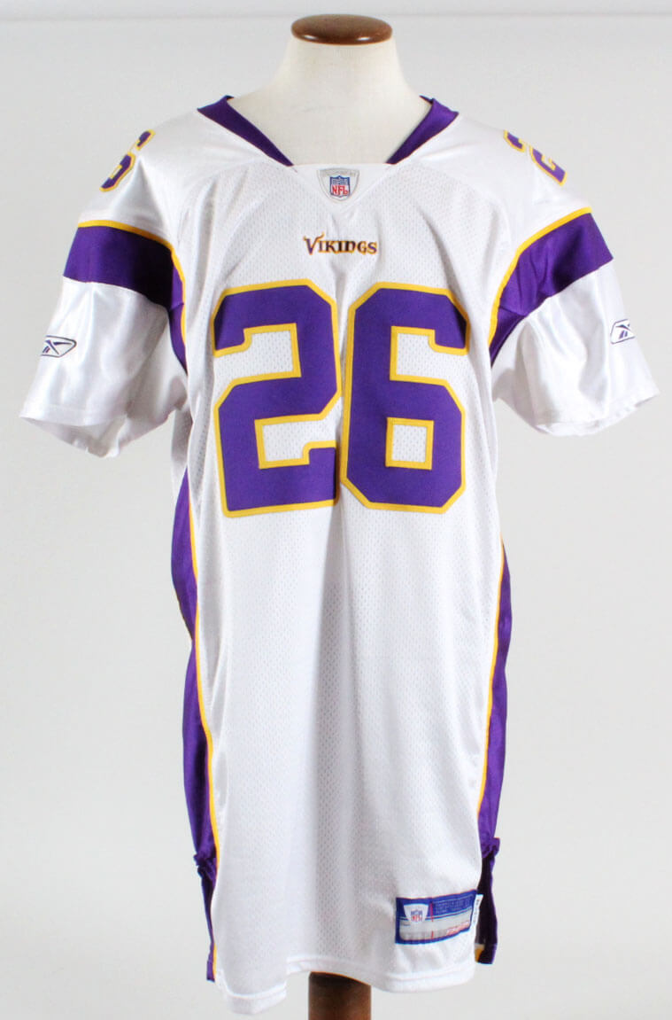 new products 7c0f8 18f08 Antoine Winfield Game-Worn Jersey Signed Vikings - COA 100% Team