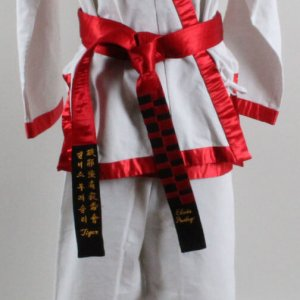 Elvis Presley Worn Karate Gi-Tiger Claw - Provenance Kang Rhee