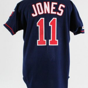 Jacque Jones Signed Minnesota Twins Authentic Jersey - COA JSA