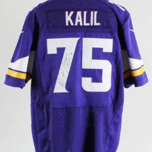 Matt Kalil Minnesota Vikings Signed Authentic Jersey – COA JSA