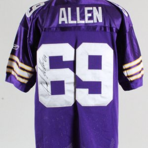 Jared Allen Minnesota Vikings Signed Authentic Jersey – COA JSA