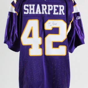Darren Sharper Minnesota Vikings Signed Authentic Jersey – COA JSA