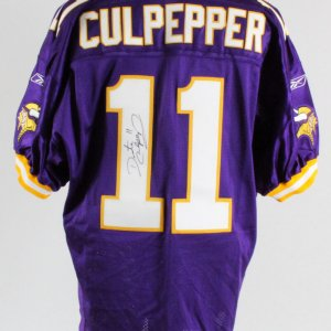 Daunte Culpepper Minnesota Vikings Signed Authentic Jersey – COA JSA