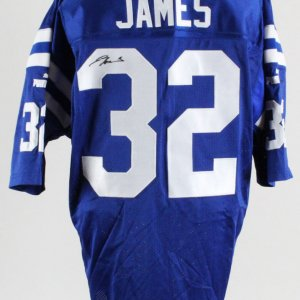 Edgerrin James Indianapolis Colts Signed Authentic Jersey – COA JSA