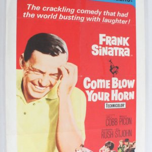 COME BLOW YOUR HORN Movie Poster One Sheet 1sh R66/144