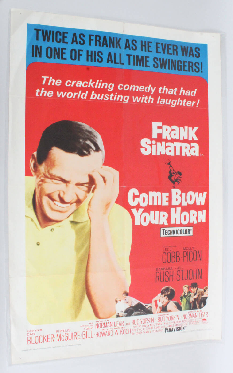 Come blow your horn Frank Sinatra movie poster print