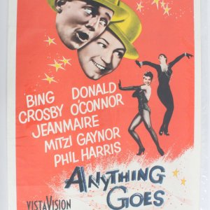 Anything Goes One Sheet Movie Poster