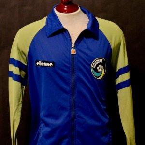 A New York Cosmos Game-Used Custom Ellesse Team Jacket.  1980's.