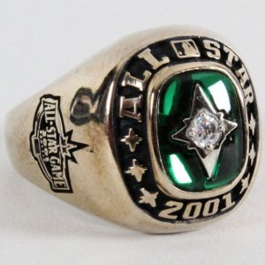 2001 Seattle Mariners MLB All-Star Ring American League Incl. Jostens Paperwork