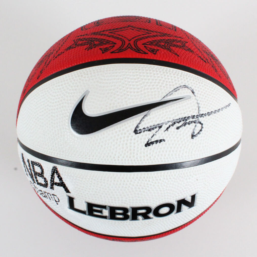 LeBron James Cleveland Cavaliers Signed Basketball - JSA Full LOA