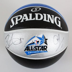 Chris Paul & Blake Griffin Signed All-Star Basketball- COA JSA
