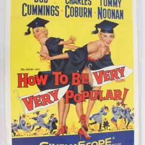 How To Be Very Very Popular One Sheet Movie Poster 55/297