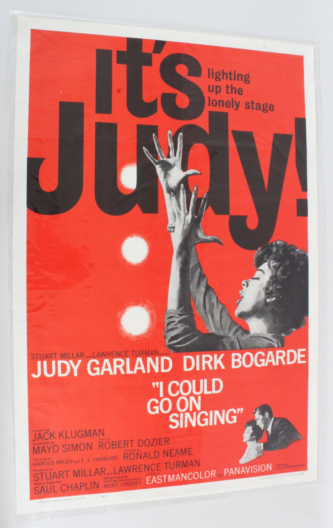 It's Judy One Sheet Movie Poster I Could Go On Singing 63/97
