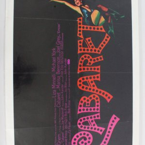 1972 Cabaret One Sheet Movie Poster 72/36