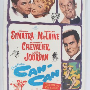 1960 Can-Can One Sheet Movie Poster 60/317