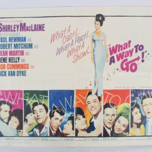 WHAT A WAY TO GO Half Sheet Movie Poster 1/2sh
