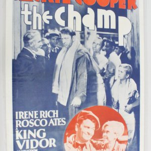 The Champ One Sheet Movie Poster R62/215