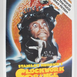1982 Clockwork Orange One Sheet Movie Poster