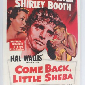 Come Back Little Sheba One Sheet Movie Poster (1sh)-1953-53/3