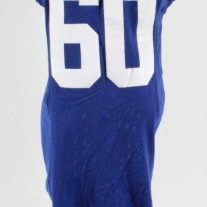 2007 Shaun O'Hara Game-Worn New York Giants Jersey