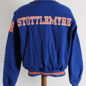 Mel Stottlemyre Game-Worn Jacket- New York Mets Coaches Jacket-100% Authentic Grade 16/20