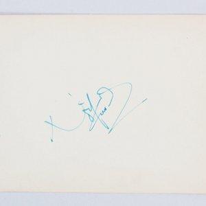 Sir Noel Coward & Gladys Cooper Signed Vintage Album Page 4.5 x 6.25 - COA JSA