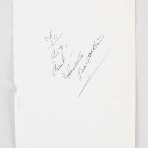 """Freddie Bartholomew Signed Vintage Album Page - 5.25"""" x 7.75"""" COA JSA"""