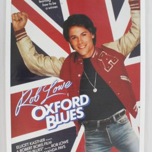 Oxford Blues One Sheet Movie Poster Rob Lowe