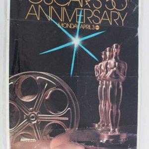 50th Academy Awards Original Movie Poster