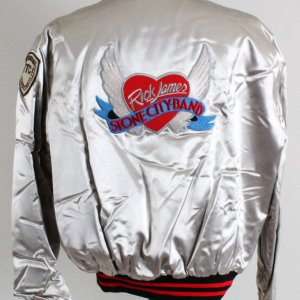 Rick James 1980's Stone City Band Promotional Tour Jacket