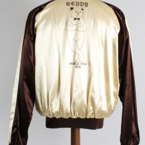 1978 Teddy Pendergrass World Tour Custom Made Jacket