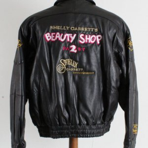 Shelly Garrett's Beauty Shop Part 2 1993-94 Leather Promotional Tour Jacket
