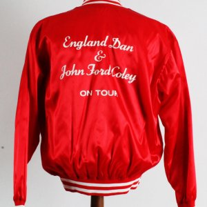 England Dan & John Ford Cooley 1970's Tour Jacket