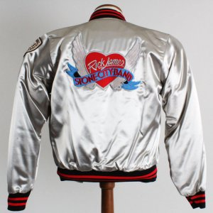 Rick James 1980's Stone City Band Ladies Promotional Tour Jacket