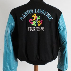 "1992-93 Martin Lawrence ""You So Crazy"" Comedy Tour Jacket"