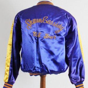 Shaun Cassidy U.S. Tour Jacket 1970's Collegiate style