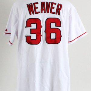 2007 Jered Weaver Game-Worn Los Angeles Angels Jersey