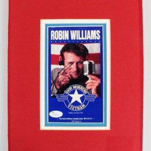"Robin Williams Signed ""Good Morning Vietnam"" Photo - COA JSA"