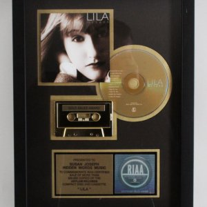 Lila McCann CD & Cassette 1997 Gold Sales Award RIAA